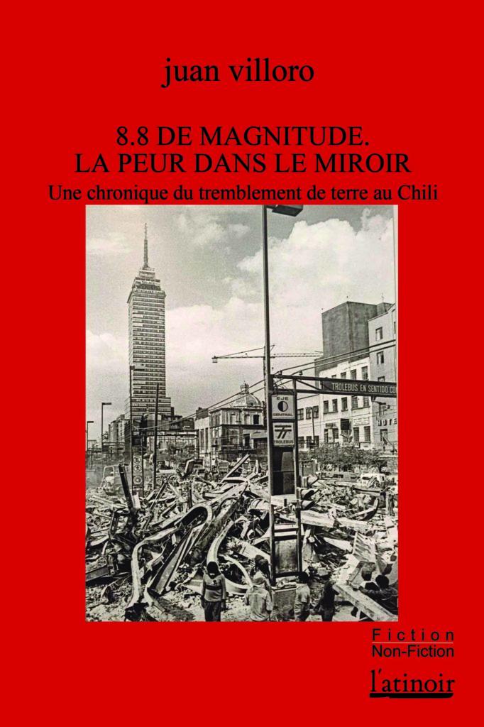 Couverture d'ouvrage: 8.8 de magnitude