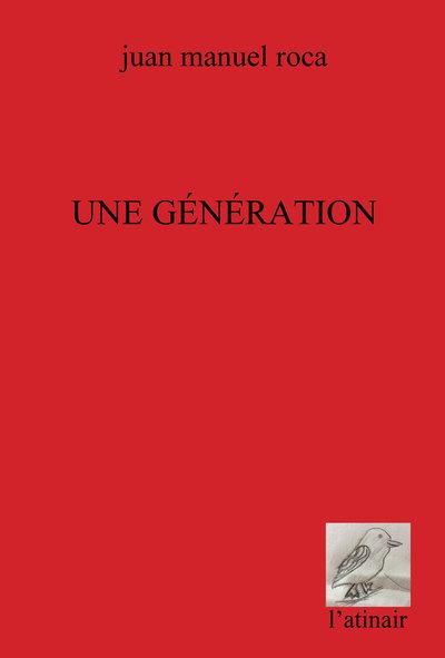 Couverture d'ouvrage: Une génération